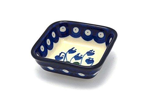 Polish Pottery Dish - Food Prep - Bleeding Heart