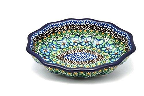 Polish Pottery Dish - Oval Fluted - Small - Unikat Signature - U151