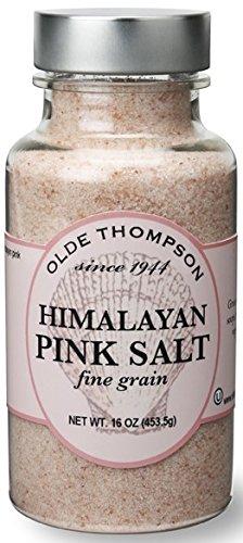 Olde Thompson Himalayan Pink Fine Salt Shaker Refill 16 oz Clear
