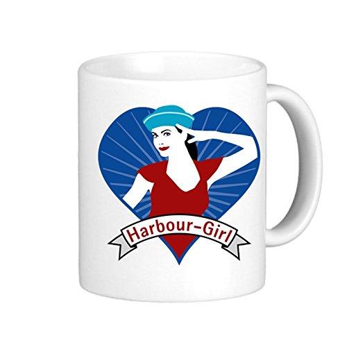 SthAmazing Harbour Girl Heart 04201504 Ceramic Coffee Cups Customize Coffee Mug