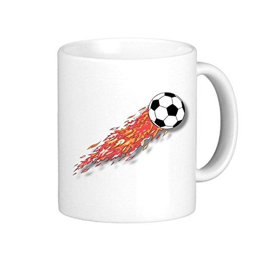 SthAmazing Soccer Glass Coffee Travel Mug Customize Coffee Mug