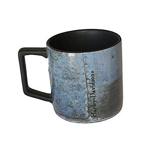 Harley Davidson Denim Blue Ceramic Coffee Mug Cup