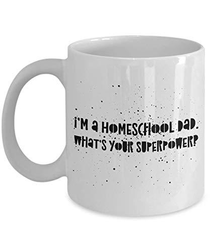 Homeschool Super Dad Coffee Mug Gift
