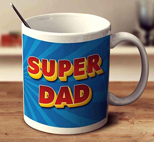 Super Dad Coffee Mug 11oz Gift Tea Cups 11oz