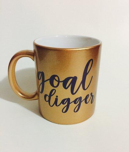 Goal Digger Gold Coffee Mug