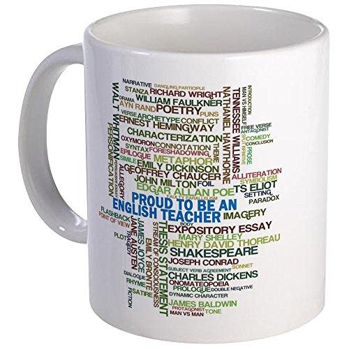 CafePress - Proud English Teacher Mug - Unique Coffee Mug Coffee Cup