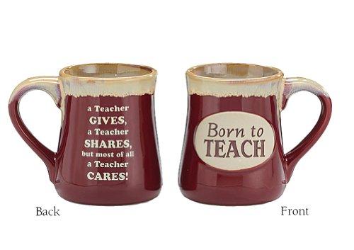 Porcelain Teachers Mug Born To Teach
