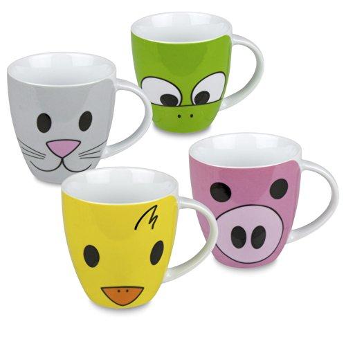 Konitz Zoo Mugs Set of 4