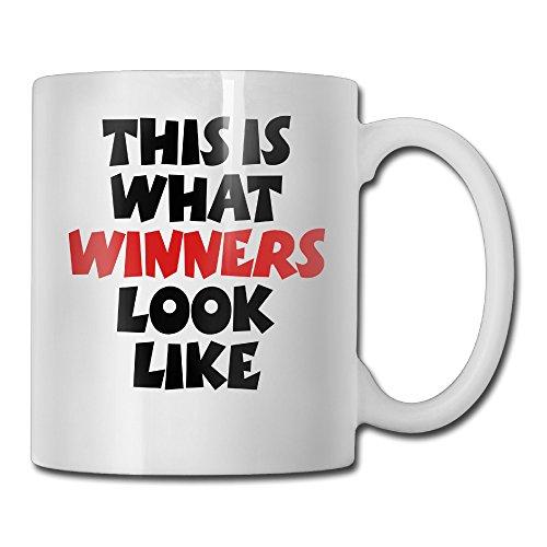 What Winners Look Like White Mug Personalized Mug Design Ceramic CoffeeTeaMilk Mug