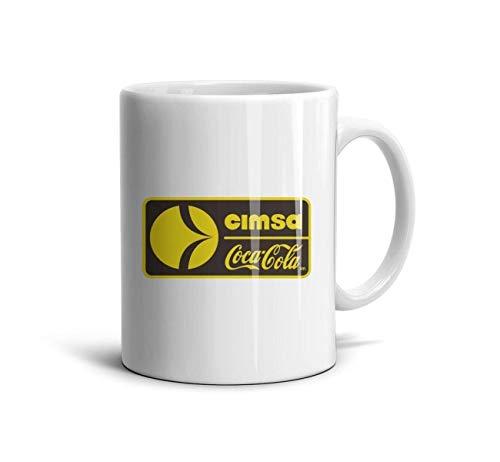 NAGEJADB Cimsa-coca-cola-Logo Travel Mug 11 Oz Daily Use Funny Lovers Mugs Boyfriend Co-Workers