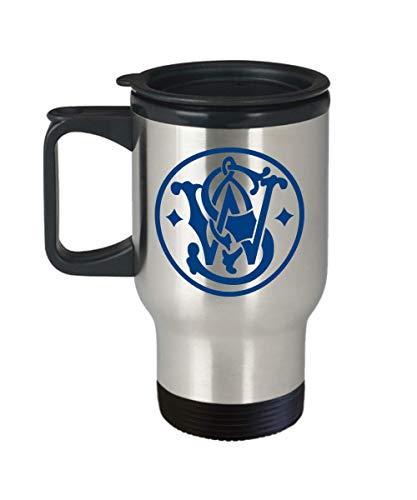 Smith And Wesson Logo Travel Mug