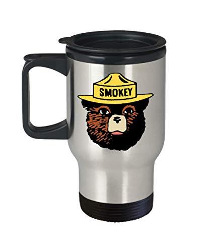 Smokey Bear Logo Travel Mug
