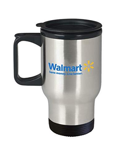 Walmart Logo Travel Mug