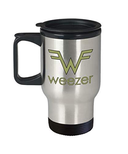 Weezer Logo Travel Mug
