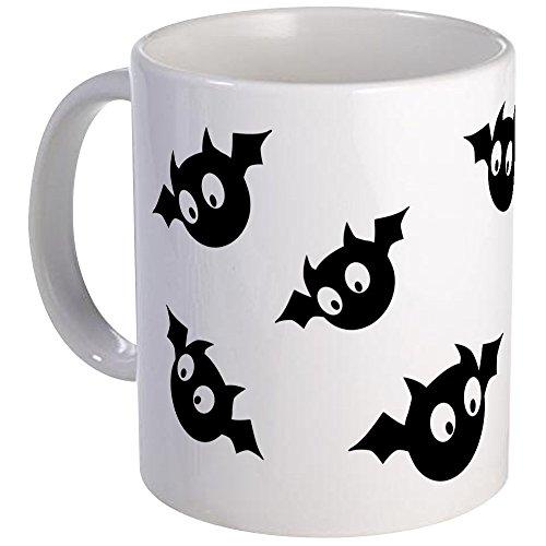 CafePress - Cute Bats Mugs - Unique Coffee Mug Coffee Cup