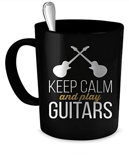 Guitars Coffee Mug Guitars gift 11 oz black