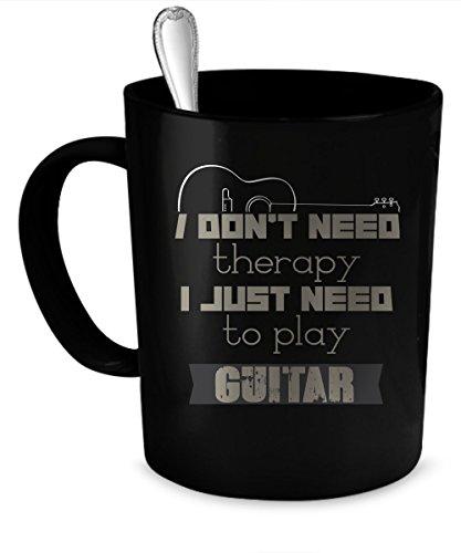 Play guitar Coffee Mug Play guitar gift 11 oz black