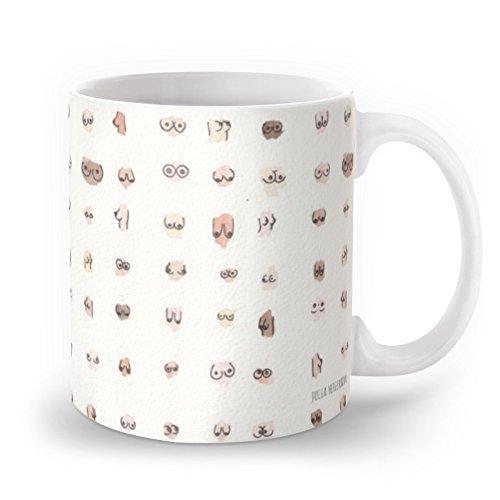 Unique Designed Boobs Mug 11 oz by Leiacikl22
