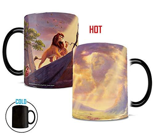 Disney - The Lion King - Presentation of Cub - Morphing Mugs Heat Sensitive Mug - Image revealed when HOT liquid is added - 11oz Large Drinkware