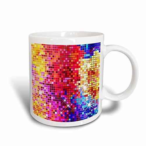 3dRose Colorful Sparkles Mug 11-Ounce