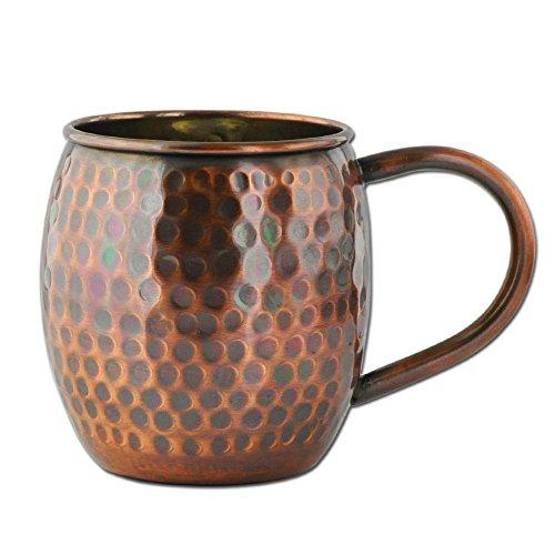 Copper Antique Mug Hammered
