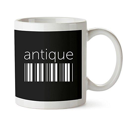 Idakoos - Antique barcode - Cities - Mug