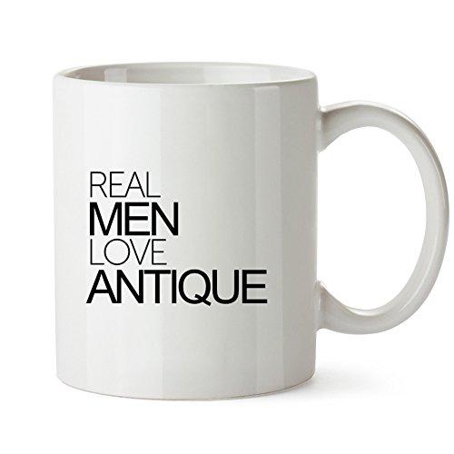 Idakoos - Real men love Antique - Cities - Mug