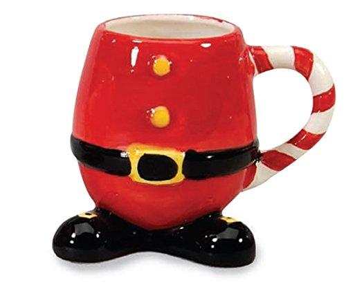Red Santa Suit Ceramic Christmas Coffee Mug