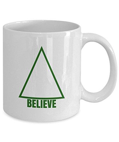 Christmas Tree Coffee Mug - Believe