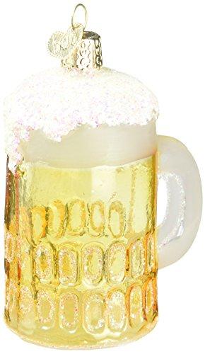 Old World Christmas Craft Beer Collection Glass Blown Ornaments for Christmas Tree Mug
