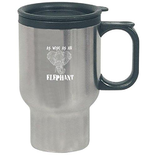 As Wise As An Elephant - Travel Mug