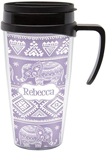 Baby Elephant Travel Mug with Handle Personalized