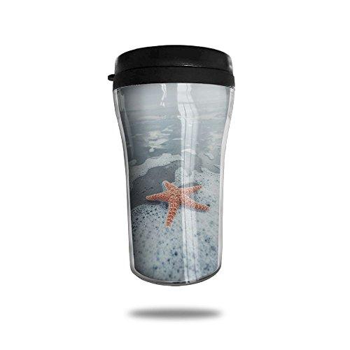 Starfish On The Beach Coffee Mug Mini Travel Coffee Mug Funny Coffee Cup 250 ML