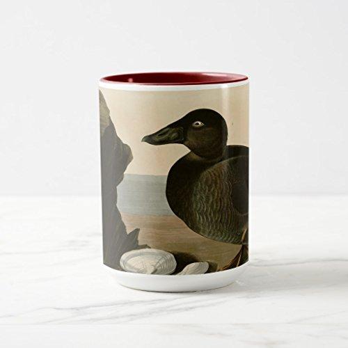 Zazzle Black or Surf Duck Coffee Mug Maroon Combo Mug 15 oz