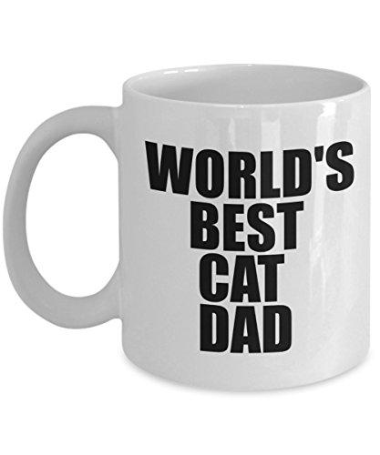World Best Cat Dad-Cat Dad Mug- Cat Dad Coffee Mug - Cat Lover Gifts - Cat Gifts For Cat Lovers -gifts For Cat Lovers - Gifts Cat Lovers -Cat Lovers Gifts-gifts For The Cat Lover- Cat Gifts For People
