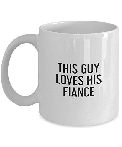 This Guy Loves His Fiance Mug
