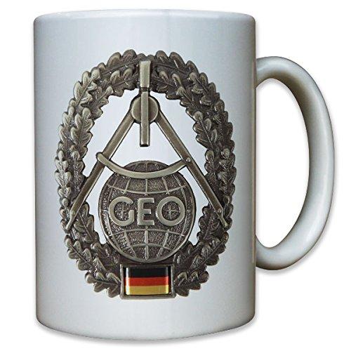 GEO troop Bundeswehr topography beret badge coat of arms emblem Germany army - Coffee Cup Mug