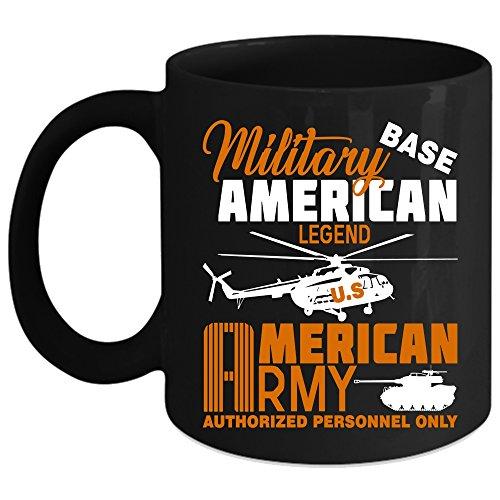 Military American Coffee Mug US American Army Coffee Cup Coffee Mug Black