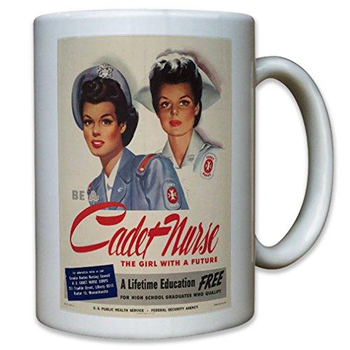 United States be a cadet nurse Become a Nurse US Army - Coffee Cup Mug