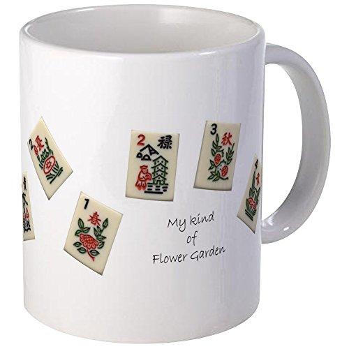 CafePress - Mah Jongg Flower Mug - Unique Coffee Mug Coffee Cup