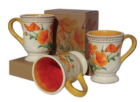 California State Flower Poppy Coffee Mug