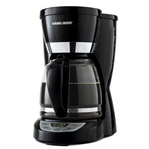 Black Decker CM1050B 12-Cup Programmable Coffeemaker Black