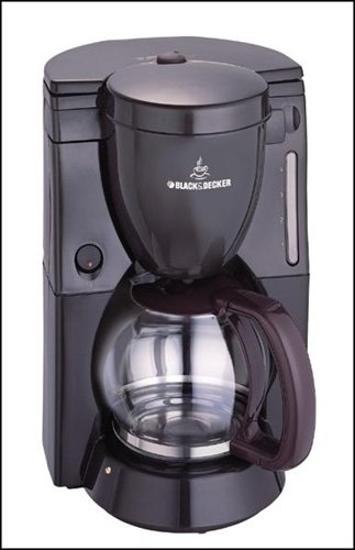 Black Decker DCM80 12 Cup Coffee Maker 220 Volt It will not work in the USA or Canada