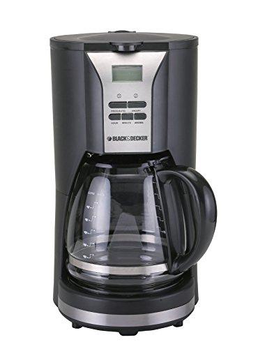 Black Decker DCM90 1000W 12 Cup Coffee Maker Non-USA Compliant Black