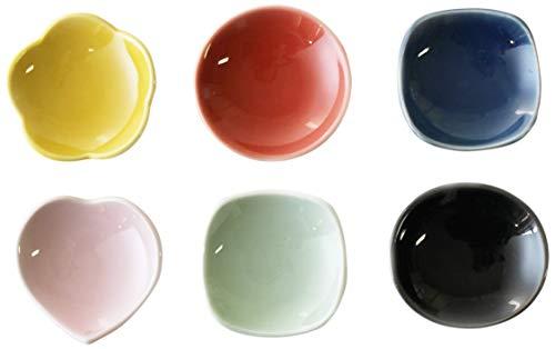 CtoCJAPAN Ceramic Plate Set 6pcs Premium Quality Porcelain Made in Japan No546375