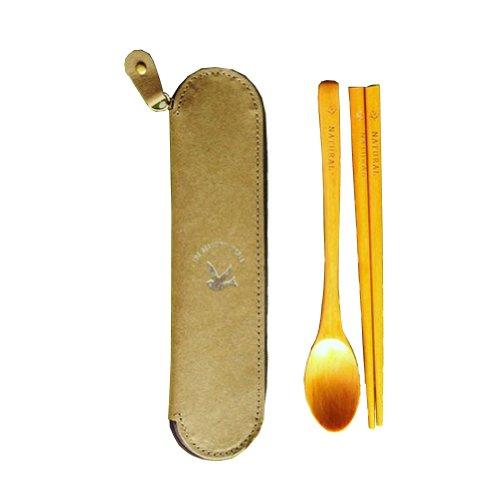 Life Tableware Portable Wooden Tableware Chopsticks SpoonPeace Dove