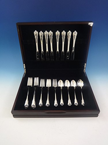 Grand Colonial by Wallace Sterling Silver Flatware Set For 8 Service 33 Pieces