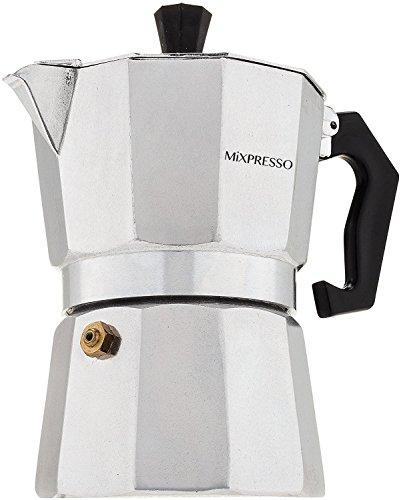 Moka Pot - Stovetop Espresso Maker - By Mixpresso Coffee 3 Cups