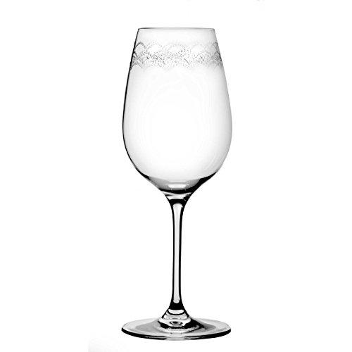 Oneida Juilliard Set of 4 White Wine Glasses
