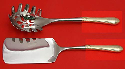 Lady Diane by Towle Sterling Silver Italian Pasta Server Set 2pc HHWS Custom